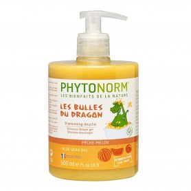 Photo Shampooing-Douche senteur Pêche-Melon 500ml Bio Junior