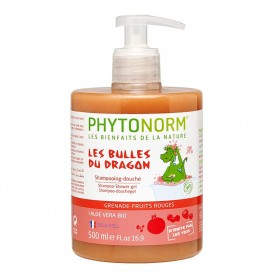 Photo Shampooing-Douche Grenade-Fruits Rouges 500ml Bio Phytonorm Junior