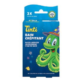 Photo Bain Crépitant pack de 3 Tinti