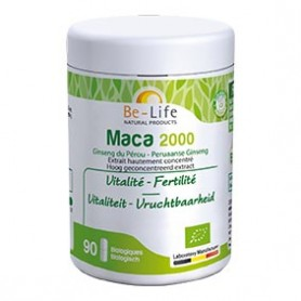 Photo Maca 2000 90 gélules Bio Be-Life
