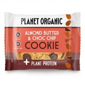 Photo Cookie Protéiné Amandes-Chocolat Bio 50g Planet Organic