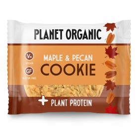 Photo Cookie Protéiné Sirop d'Erable & Pécan Bio 50g Planet Organic