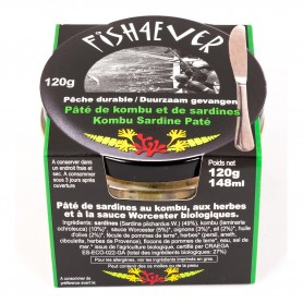 Pâté Sardines - Kombu 120g Fish4Ever