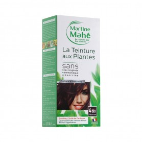 Photo Teinture n°4BIS Châtain Roux 125ml Martine Mahé