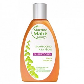 Photo Shampooing à la Pêche 200ml Martine Mahé