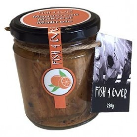 Photo Maquereau au jus d'orange et poivre noir 220g FISH4EVER
