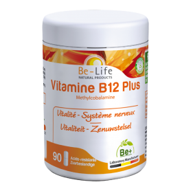 Photo Vitamines B12 PLUS 90 gélules Be-Life