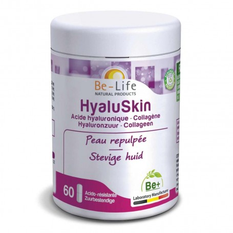 Photo HyaluSkin 60 gélules Be-Life
