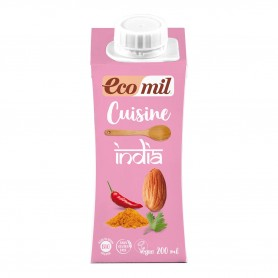 Photo Crème Cuisine India 200ml Bio Ecomil