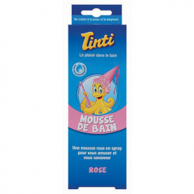 Photo Mousse de Bain Rose Tinti