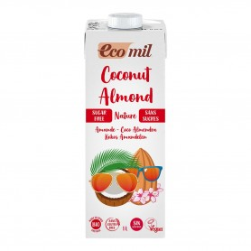 Photo Lait Coco-Amandes Nature 6x1L Bio Ecomil