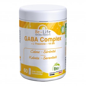 Photo Gaba Complexe 60 gélules Be-Life