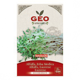 Photo Luzerne (Alfalfa) - Graines à germer bio - 40g Geo