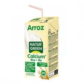Photo Boisson Riz-Calcium Nature 200ml Bio Naturgreen