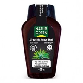 Photo Sirop d'agave Noir 360ml Bio Naturgreen