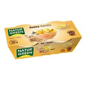 Photo Dessert Avoine-Vanille 2x125g Bio Naturgreen