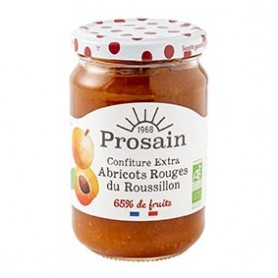 Photo Confiture extra d'abricots 350g bio Prosain