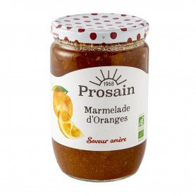 Photo Marmelade orange saveur amère 750g bio - Prosain