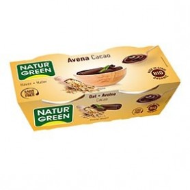 Photo Dessert Avoine-Cacao 2x125g Bio Naturgreen