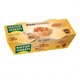 Photo Dessert Avoine-Caramel 2x125g Bio Naturgreen