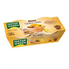 Photo Dessert Avoine Cannelle-Citron 2x125g Bio Naturgreen