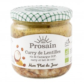 Photo Curry de lentilles à l'indienne 38.8cl bio Prosain