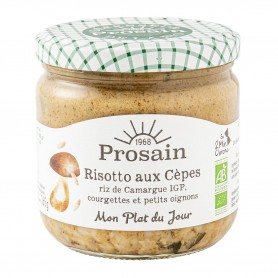 Photo Risotto aux cèpes 365g bio Prosain