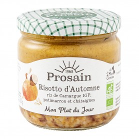 Photo Risotto d'automne au potimarron 350gr bio Prosain