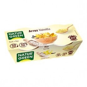 Photo Dessert Riz Vanille 2x125g Bio Naturgreen