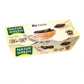 Photo Dessert Riz Chocolat 2x125g Bio Naturgreen