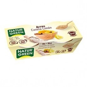 Photo Dessert Riz Cannelle-Citron 2x125g Bio Naturgreen