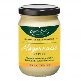 Photo Mayonnaise nature 185g bio Emile Noel
