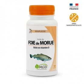 Photo Huile de foie morue 140 caps. MGD