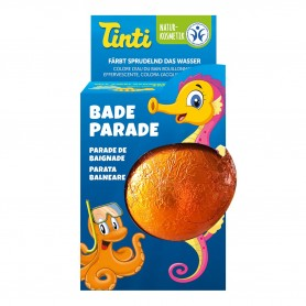 Photo Parade pour le bain orange Tinti
