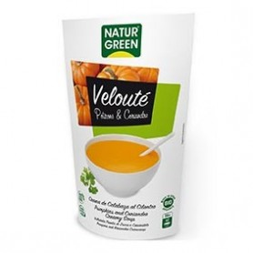 Photo Velouté Potiron-Coriandre 500ml Bio Naturgreen