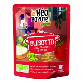 Photo Blésotto tomates et olives 250g bio Danival