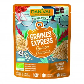 Photo Céréales Express quinoa 250g bio Danival