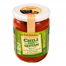 Photo Chili con seitan 525g bio Danival