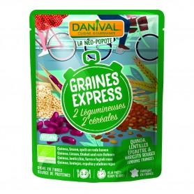 Photo Graines Express 4 céréales 250g bio Danival