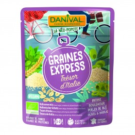 Photo Graines Express Trésor d'Italie 250g bio Danival