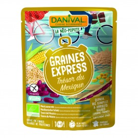 Photo Graines Express Trésor du Mexique 250g bio Danival
