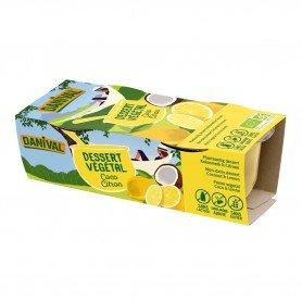 Photo Dessert végétal coco-citron 2x100g bio Danival