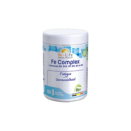Photo Fe Complex 60 gélules Be-Life