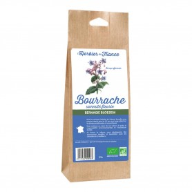 Photo Bourrache sommités 25g bio L'Herbier de France