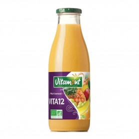 Photo Cocktail 12 fruits 75cl bio Vitamont
