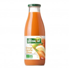 Photo Cocktail orange-carotte-citron 75cl bio Vitamont