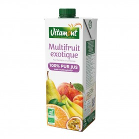 Photo Multifruits Tetra 1l bio Vitamont