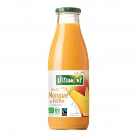 Photo Nectar de mangues 75cl bio Vitamont
