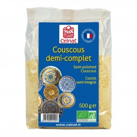 Photo Couscous demi-complet 500g bio Celnat