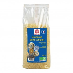 Photo Couscous demi-complet 1kg bio Celnat